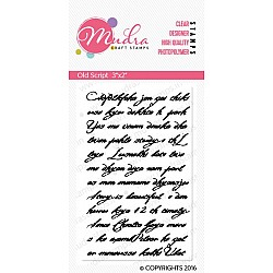 Mudra Craft Stamps - Old Script
