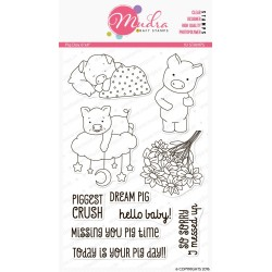 Mudra Craft Stamps - Pig Day