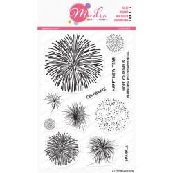 Mudra Craft Stamps - Starbursts