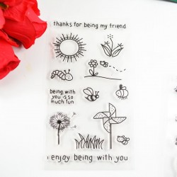 Spring Time Clear Stamp set