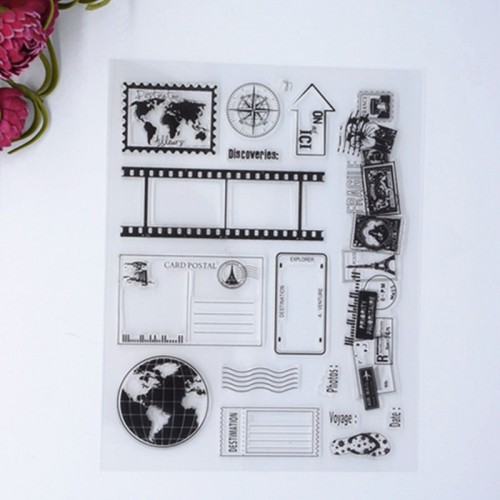 Its all about Travel Clear Stamp set