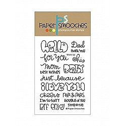 Paper Smooches Clear Stamp -  Word Up