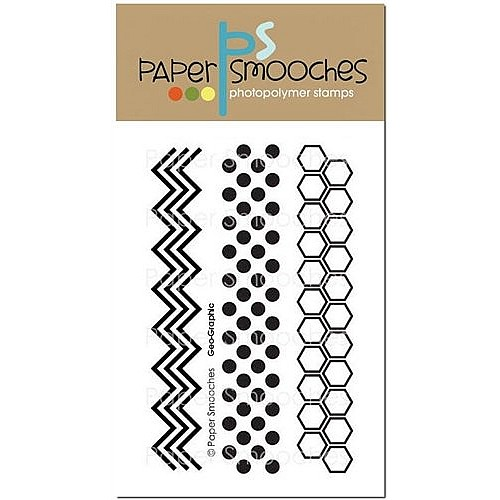 Paper Smooches Clear Stamp -  Geo Graphic