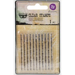 Prima's Finnabair Collections Clear Stamp - Jagged Lines