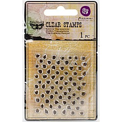 Prima's Finnabair Collections Clear Stamp - Offset Dots
