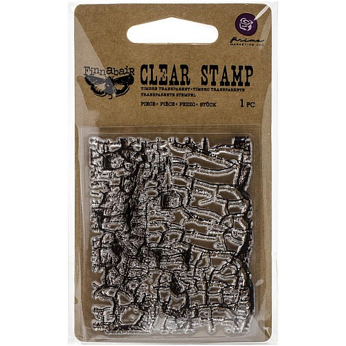 Prima's Finnabair Collections Clear Stamp - Crackle