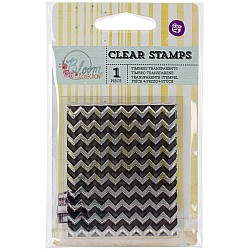 Prima's Bloom Collection Clear Stamp - Chevron