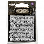 Gothic Book - Finnabair Clear Stamp by Prima