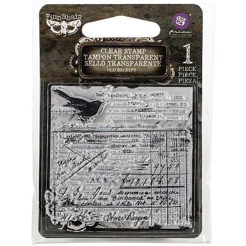 Old Recipt - Finnabair Clear Stamp by Prima