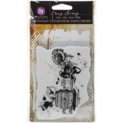 """Prima Cling Stamp 3.5""""X5"""" - Romanticism"""