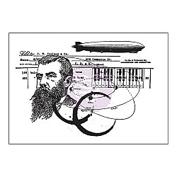 "Prima Cling Stamp 3.5""X5"" - State of Art"