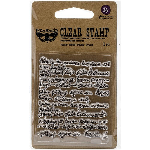 Prima's Finnabair Collections Clear Stamp - Messy