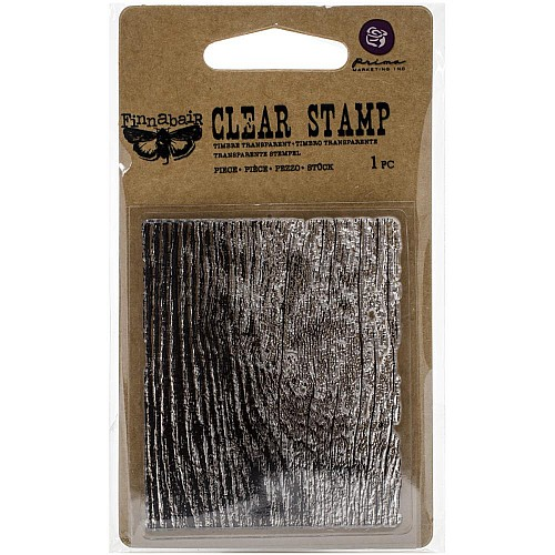 Prima's Finnabair Collections Clear Stamp - Wood