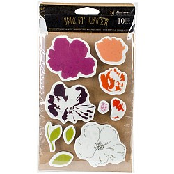Prima Ink N Layer Stamp - Fragrant Flora