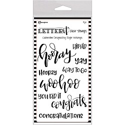 Ranger Letter IT Stamps - Celebrate