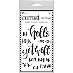 Ranger Letter IT Stamps - Greeting