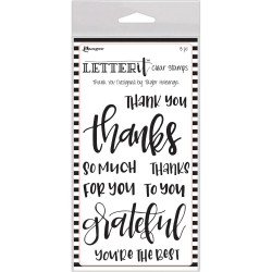 Ranger Letter IT Stamps - Thank You