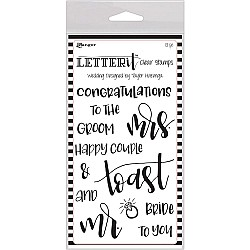 Ranger Letter IT Stamps - Wedding