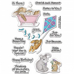 Stampendeous Happy Moments Clear Stamp