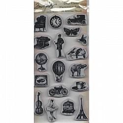 Tim Holtz Cling Stamps - Little Things