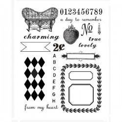 7gypsies Clear Stamp - Trousseau