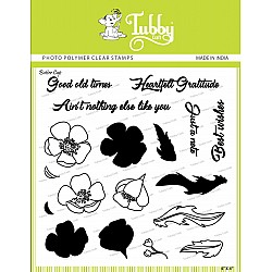 Tubby Photopolymer Clear Stamps - Buttercup