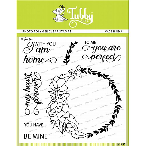 Tubby Photopolymer Clear Stamps - Perfect you