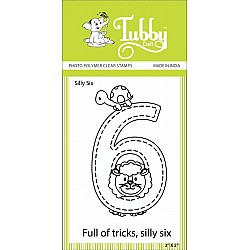 Tubby Photopolymer Clear Stamps - Silly Six