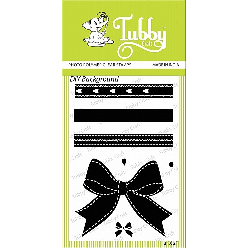 Tubby Photopolymer Clear Stamps - DIY Background