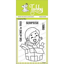 Tubby Photopolymer Clear Stamps - Surprise Box