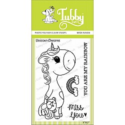 Tubby Photopolymer Clear Stamps - Unicorn Dreams