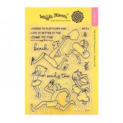Waffle Flower Stamp Set - Sandy Toes
