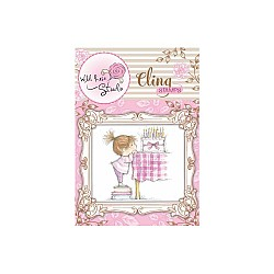 Wild Rose Studio Clear Stamp - Birthday Girl