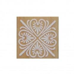 Wooden Rubber Stamp Set - Design 1