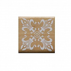 Wooden Rubber Stamp Set - Design 3