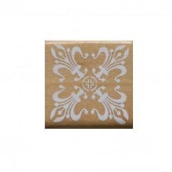 Wooden Rubber Stamp Set - Design 3