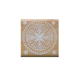 Wooden Rubber Stamp Set - Design 4