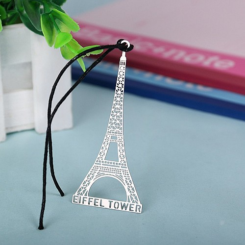 Metal Bookmark - Eiffel Tower
