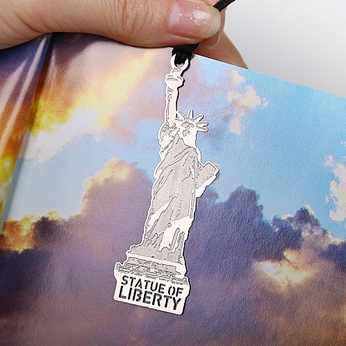 Metal Bookmark - Statue of Liberty