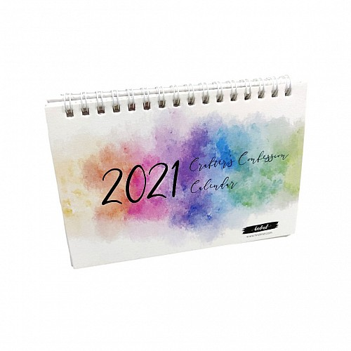 CrafTangles 2021 Crafters Confession Calendar