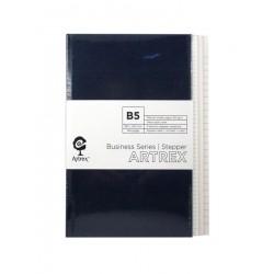 Artrex 80 gsm B5 3 - Section Stepper Notebook (Business Series)