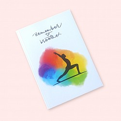 CrafTangles A5 120 gsm Notebook / Diary - Remember to Breathe