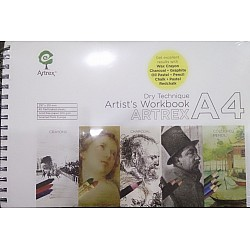 Artrex Artist's Workbook A4 Size (200 GSM Drawing Book)