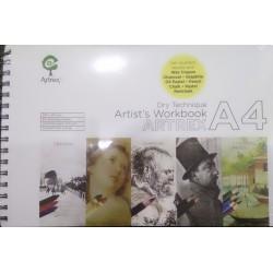 Artrex Artist's Workbook A4 Size (200 GSM Drawing Book)