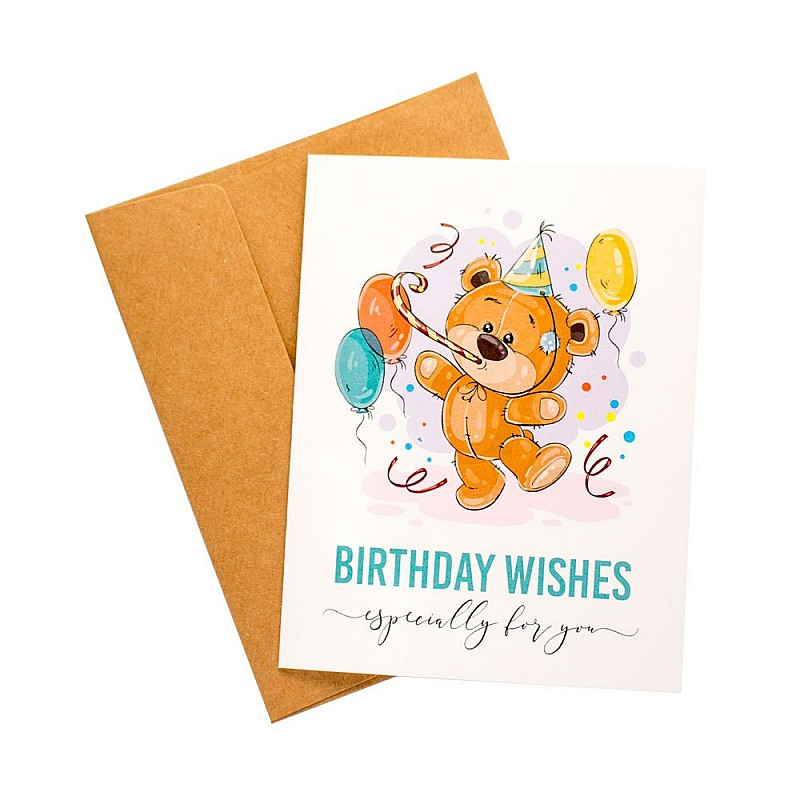 Buy Birthday Wishes Party Printed Greeting Card Online In India At