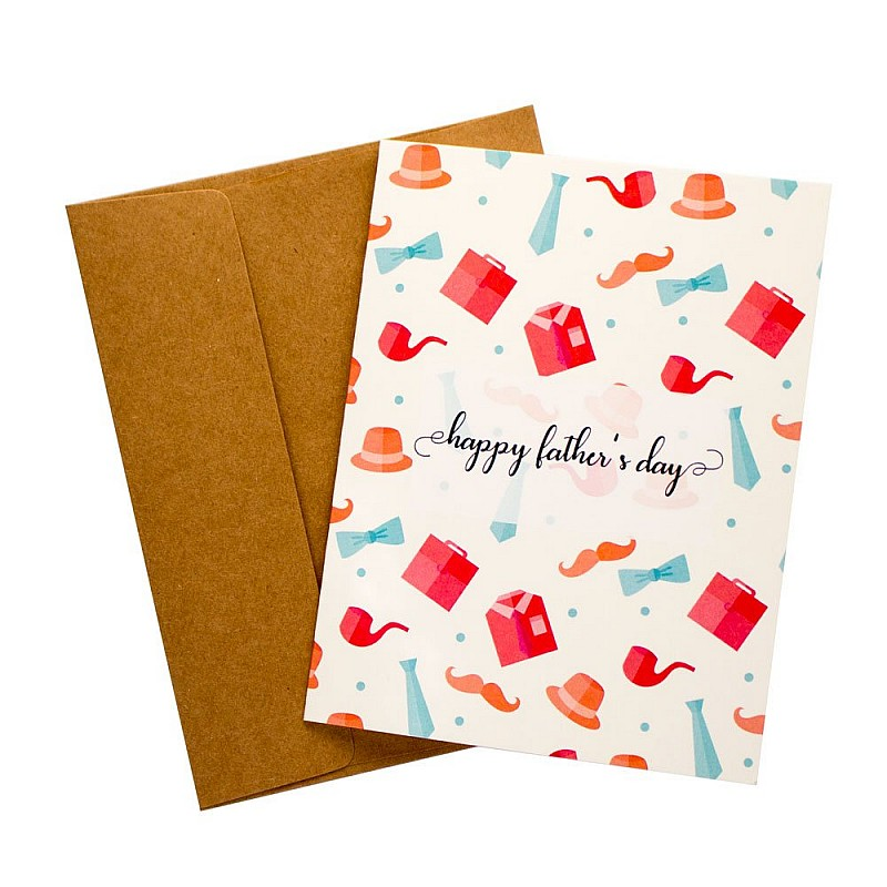 Buy suit fathers day printed greeting card online in india at best suit fathers day printed greeting card m4hsunfo