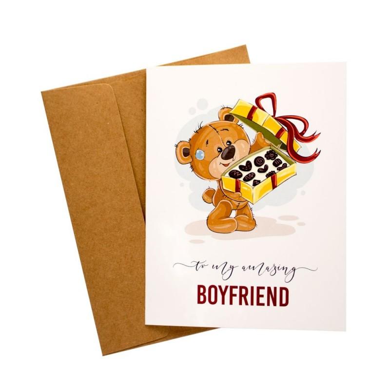 Buy amazing boyfriend love printed greeting card online in india at amazing boyfriend love printed greeting card m4hsunfo
