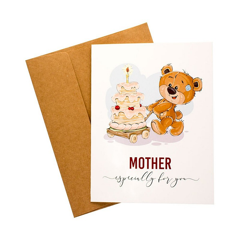 Especially For You Mom Printed Greeting Card