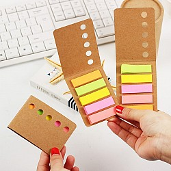 Sticky Notes or Memo Pads - Colorful Memo Flags