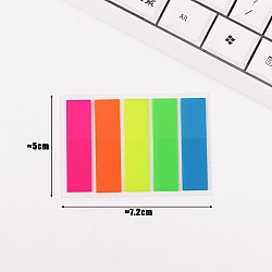 Sticky Notes or Memo Pads - Rainbow Colors